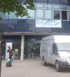 Das war die Froscon 11 August 2016